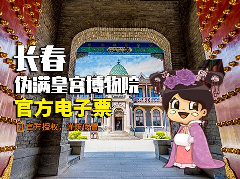 伪满皇宫博物院成人票